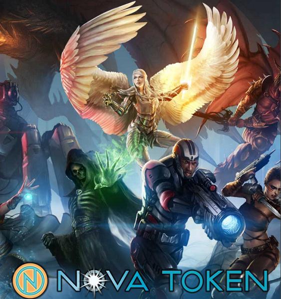 新星闪电战(Nova Blitz)基于NovaToken上的区块链卡牌游戏